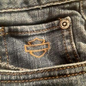 Harley-Davidson Jeans - Harley Davidson ladies blue jeans